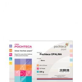 CARTULINA OPALINA CARTA CON 100 HOJAS POCHTECA
