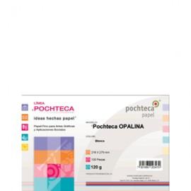 PAPEL OPALINA CARTA PAQUETE CON 100 H. POCHTECA