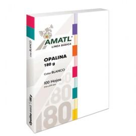 OPALINA AMATL BLANCA 180 GR CON 100 TAM CARTA