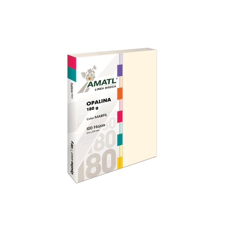 OPALINA AMATL MARFIL 180 GR CON 100 POCHTECA