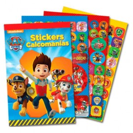 BLOCK STICKERS PAW PATROL
