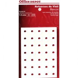 REFUERZOS PARA CARPETA OFFICE DEPOT BLANCO C/210