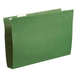 FOLDER COLGANTE CARTA OFFICE DEPOT VERDE CON 25 PZ