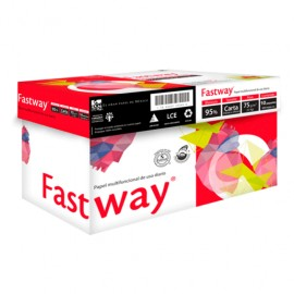 PAPEL PARA COPIADORA CAJA C/5000 CARTA FASTWAY
