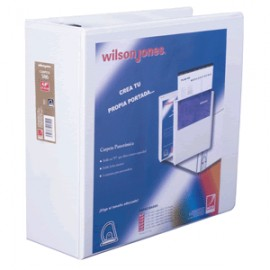 CARPETA ARILLO D WILSON JONES BLANCA CARTA