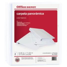 CARPETA ARILLO REDONDO OFFICE DEPOT BANCA CON 2 PQ