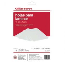 MICAS TERMICAS OFFICE DEPOT 4X6 CON 50 PIEZAS