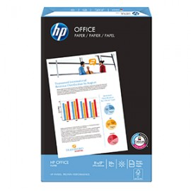 PAPEL OFFICE DOBLE CARTA RESMA CON 500 HOJAS HP
