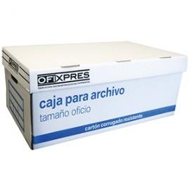 CAJA ARCHIVO OFIXPRES BLANCA