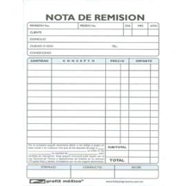 REMISION 1/4 CARTA CGRAFIX AUTOCOPIANTE 3 PAQUETES