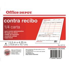 CONTRARECIBO OFFICE DEPOT
