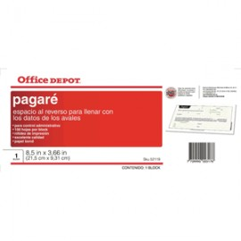 PAGARE OFFICE DEPOT