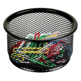 PORTACLIPS MESH COLOR NEGRO OFFICE DEPOT