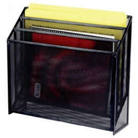CLASIFICADOR TRIPLE MESH COLOR NEGRO OFFICE DEPOT