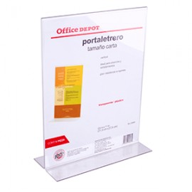 PORTALETRERO VERTICAL 8.5 X 11 IN OFFICE DEPOT