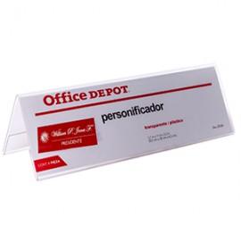 PERSONIFICADOR DE ACRILICO OFFICE DEPOT
