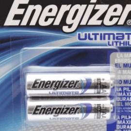 PILA ENERGIZER E2 LITHIUM AA PAQUETE CON 2