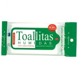 TOALLITAS HUMEDAS ANTIBACTERIALES WALFORT