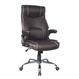 SILLA TIPO PIEL OFFICE DEPOT DIRECTOR EUROPA CAFE