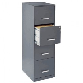ARCHIVERO OFFICE DESIGNS DE 4 GAVETAS CHARCOAL