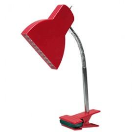 LAMPARA AMERICAN LIGHTING CLIP PANT PLANA LED ROJO
