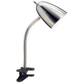 LAMPARA DE CLIP CROMADA