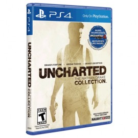 JUEGO PS4 UNCHARTED COLLECTION