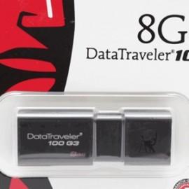MEMORIA USB KINGSTON 8GB DT100G3 3.0