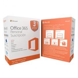 OFFICE MICROSOFT 365 PERSONAL PAQUETE CON 3