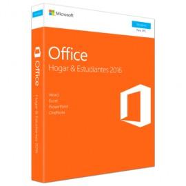 OFFICE 2016 MICROSOFT PC H&S NUEVO EMPAQUE