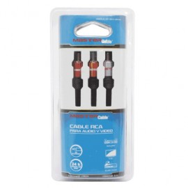 CABLE RCA MASTER (2 MTS)