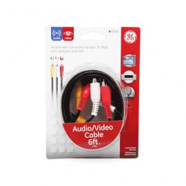 CABLE RCA GENERAL ELECTRIC (1.82 MTS, 3 CANALES)