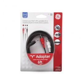 CABLE 3.5MM A RCA GENERAL ELECTRIC (1.82 MTS)