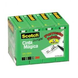 CINTA ADHESIVA SCOTCH 810 MAGICA 18MM X 33M