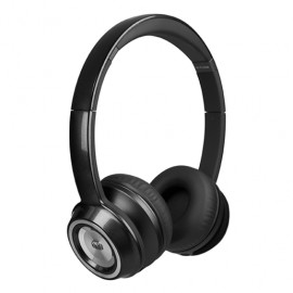AUDIFONOS ON EAR MONSTER NTUNE SOLID NEGRO