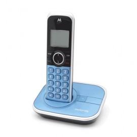 TELEFONO INALAMBRICO MOTOROLA AZUL