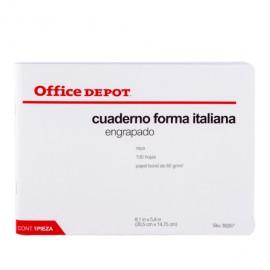 CUADERNO ITALIANA ENGRAPADO RAYA OFFICEDEPOT 100 H