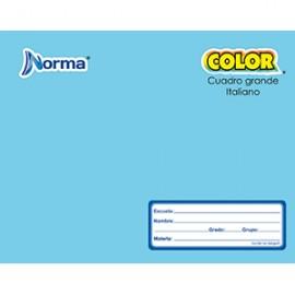 CUADERNO ITALIANA COSIDO CUADRO GDE NORMA 100 HOJA