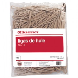 LIGA No18 OFFICE DEPOT BOLSA DE 100 GRAMOS