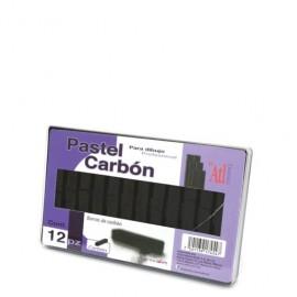 CAJA DE CARTON BARRAS NEGRAS CARBON ATL CON 12 PIE
